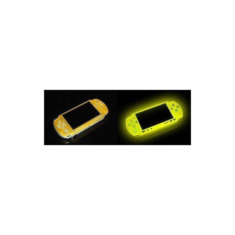 Carcasa superior FLUORESCENTE PSP 2000 - Amarillo -