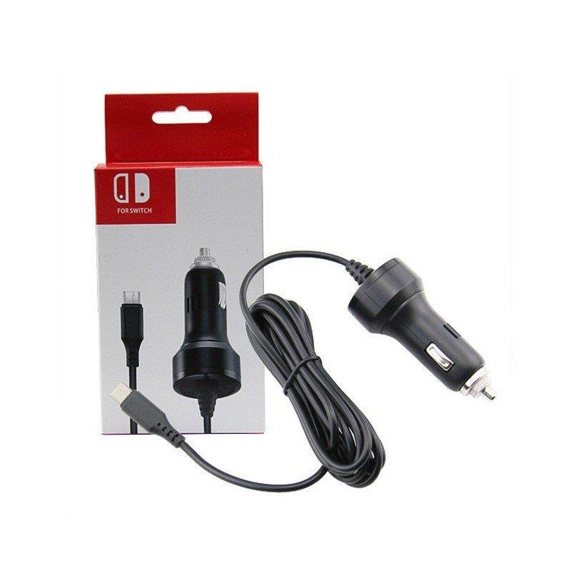 Cargador de coche Nintendo Switch