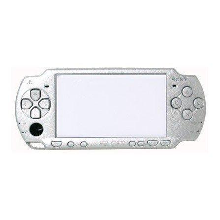 Carcasa completa PSP 2000 + Botones ( Plata metalizado )