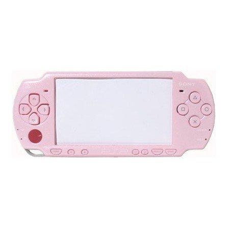 Carcasa completa PSP 2000 + Botones ( Rosa metalizado )