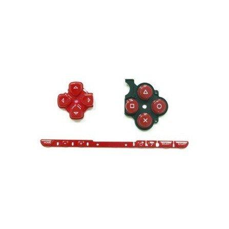 Kit Botones PSP 2000 ( Rojo )