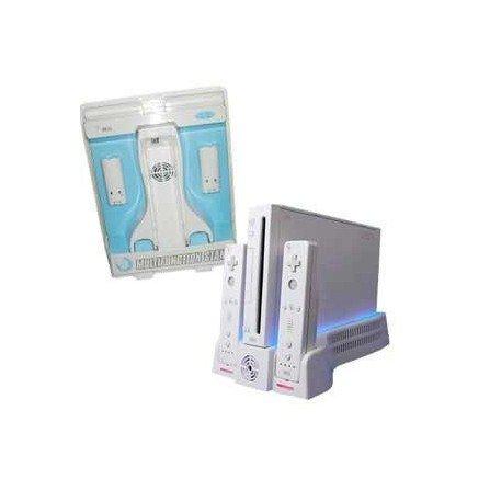 Base de carga multifuncional Wii
