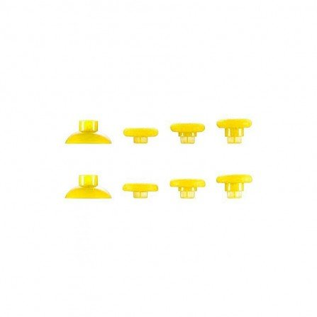 Kit Joysticks intercambiables PS4 / XBONE AMARILLO