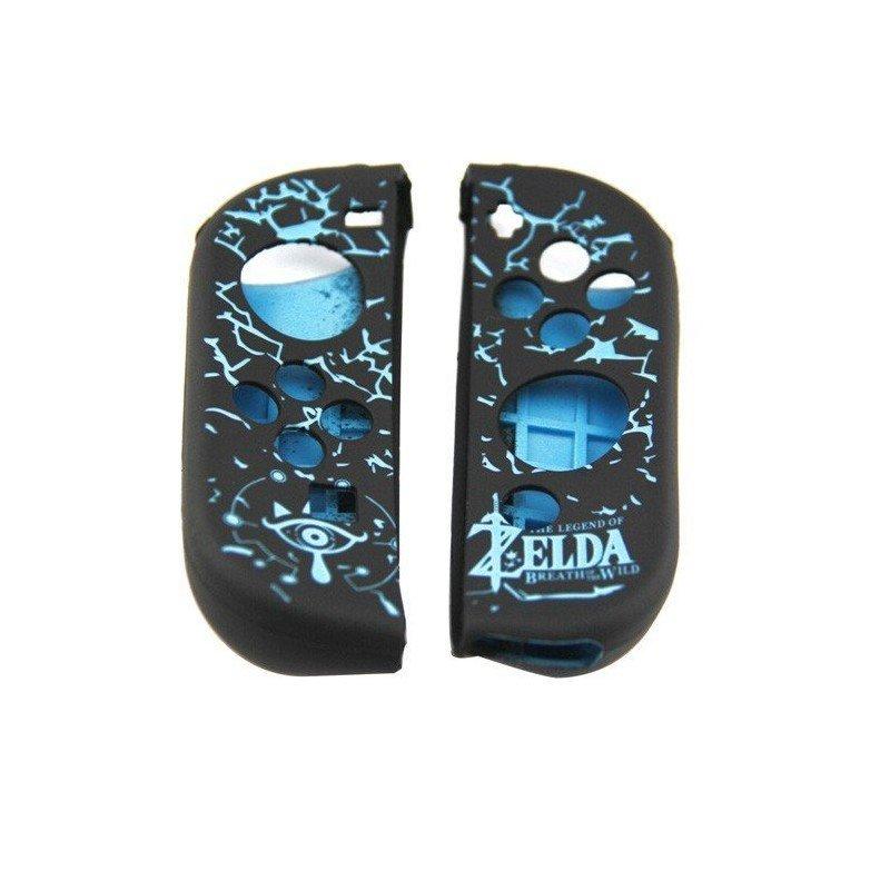 Funda protectora silicona Nintendo Switch - ZELDA AZUL