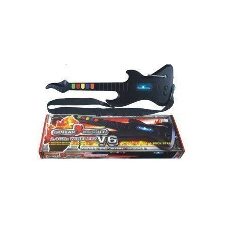 Guitarra Knight V6 PS2