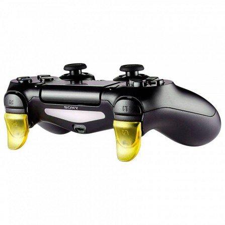 Prolongador extensor de gatillos mando PS4 AMARILLO (Version A)