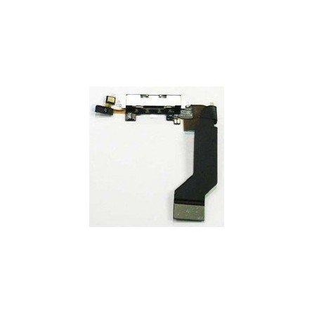 Cable flex conector de carga + Microfono iPhone 4s
