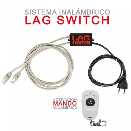Lag Switch Premium - INALAMBRICO