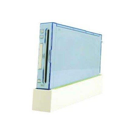 Carcasa protectora wii + soporte con ventilador  ( Azul )