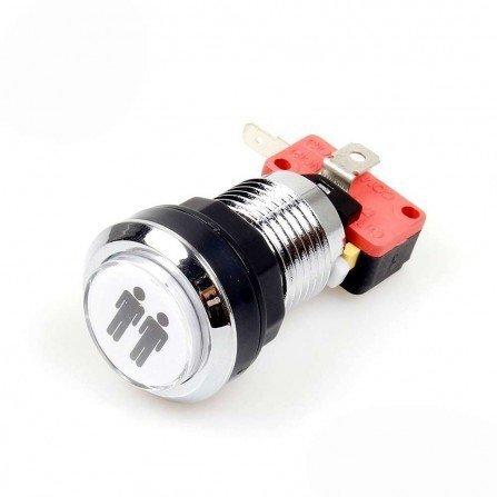 Boton americano 28mm LED - 2 PLAYER