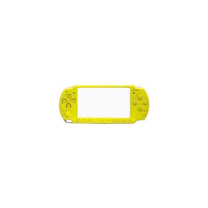 Carcasa completa PSP 2000 + Botones ( Amarillo )