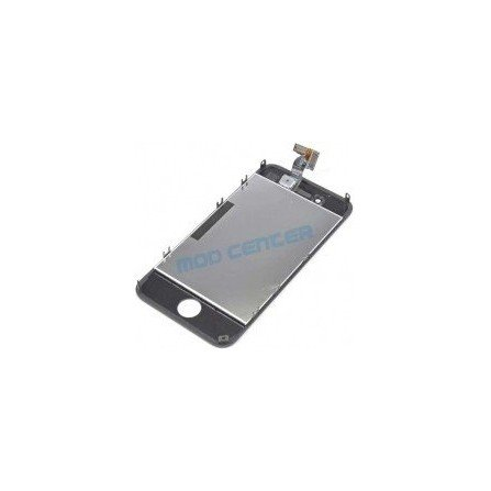 Pantalla Retina LCD + Tactil con soporte iPhone 4G NEGRA ( Original Apple )