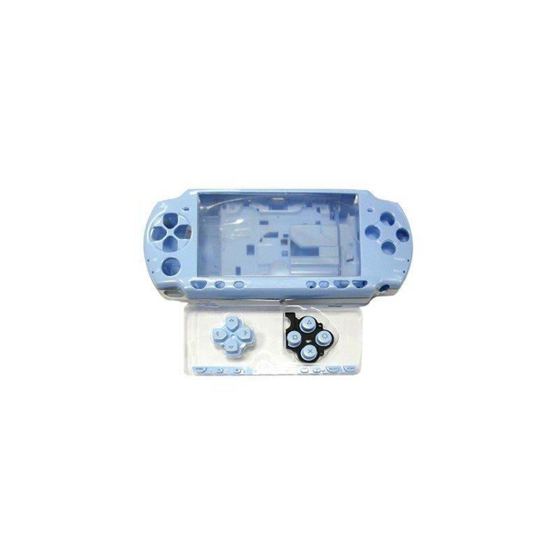 Carcasa completa PSP 2000/3000 + Botones ( Azul cielo )