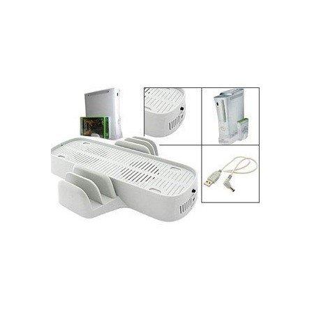 Soporte Refrigerante + Stand para Juegos XBOX360