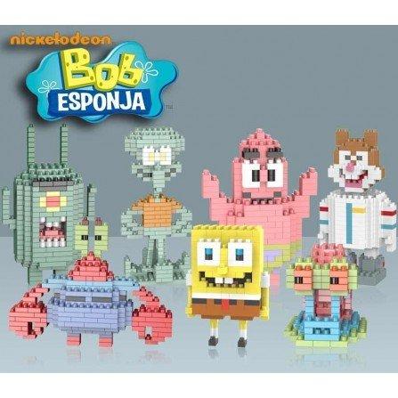Figura de Mini bloques - Series BOB ESPONJA