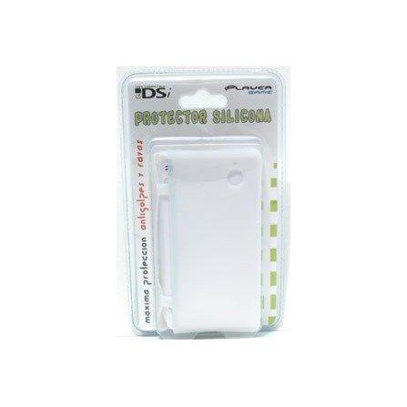 Protector silicona antigolpes DSi  ( Blanco )