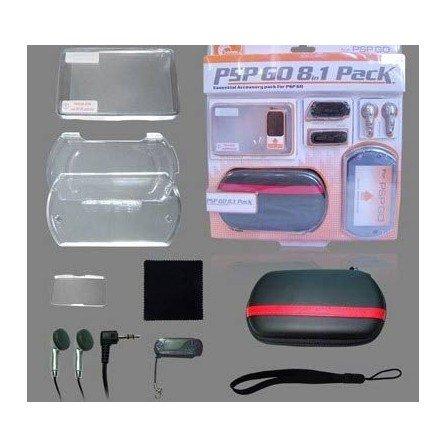 Pack de accesorios PSP GO ( 8 en 1 )