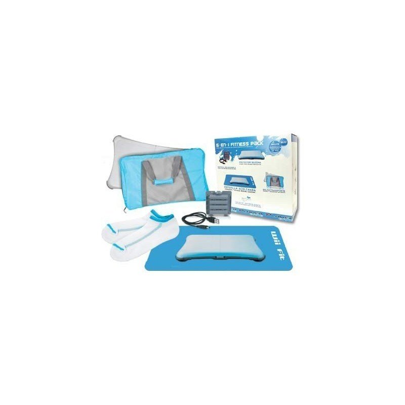 Fitness Pack Wii FIT 5 en 1  ( Azul )