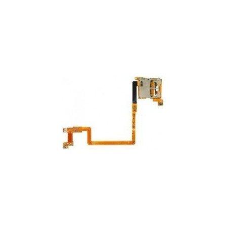 Cable flex DSi (Lector Tarjeta SD + Botones L y R)
