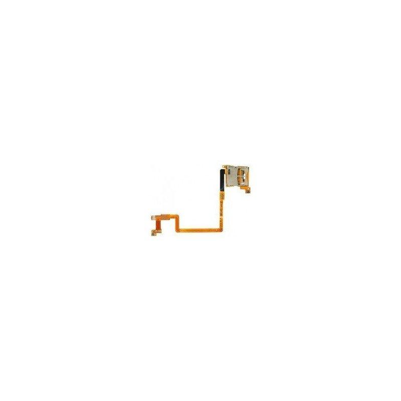 Cable flex DSi ( Lector Tarjeta SD + Botones L y R )