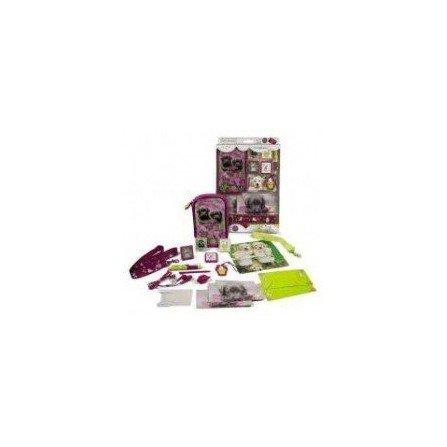 Pack DSLite/DSi/DSi XL  KEITH Perritos Morado (16 en 1 )