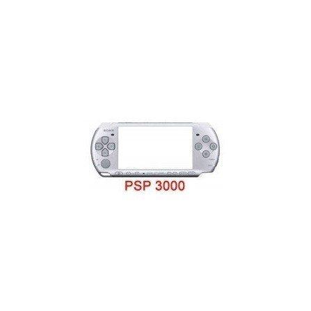 Carcasa completa PSP 3000 + Botones ORIGINAL ( Plata )