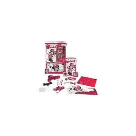 Pack NDS Lite / DSi / DSi XL Minnie Mouse (16 en 1 )