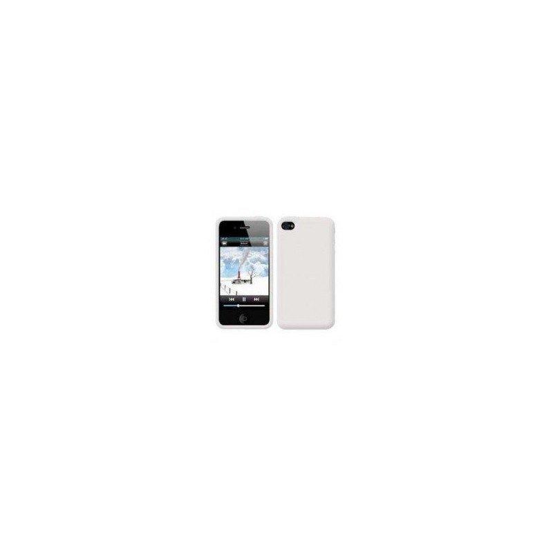 Funda silicona iPhone 4G / 4s ( Blanca )