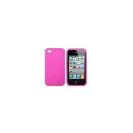 Funda silicona iPhone 4G / 4s  ( Rosa )