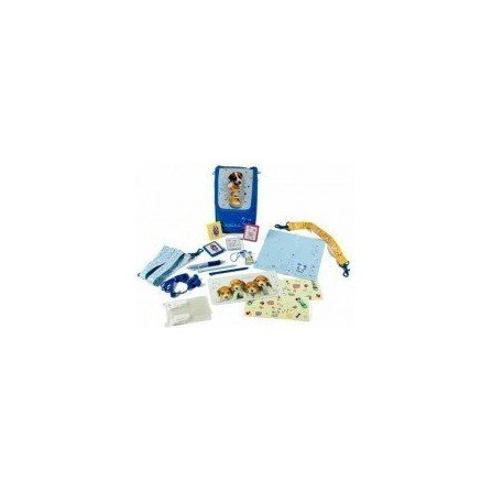 Pack DSLite/DSi/DSi XL/3DS KEITH Perritos Azul (16 en 1 )