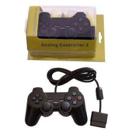 Mando PLAYERGAME PS2 *Negro* ( En bolsa )