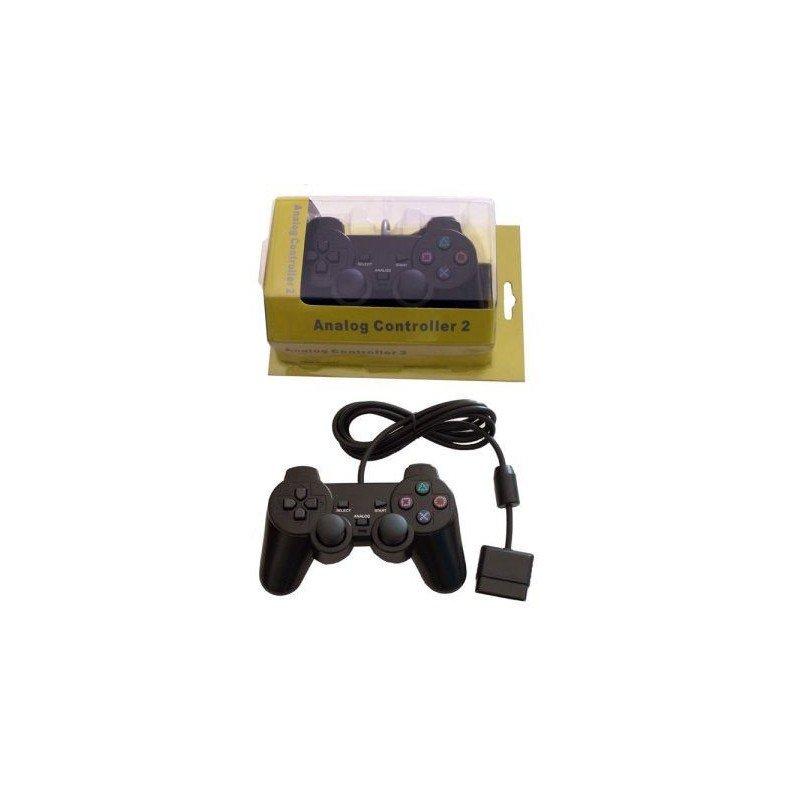Mando PLAYERGAME PS2 *Negro* ( En bolsa )Mando PLAYERGAME PS2 *Negro* ( En bolsa )