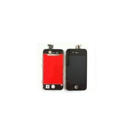 Pantalla Retina LCD + Tactil con soporte iPhone 4S Negra ( Original Apple )