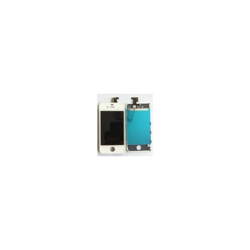 Pantalla Retina LCD + Tactil con soporte iPhone 4S Blanca ( Original Apple )