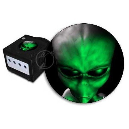 Jewel Alien verde GameCube