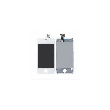 Pantalla Retina LCD + Tactil con soporte iPhone 4G BLANCA ( Original Apple )