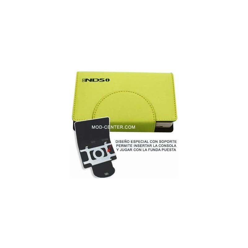 Funda Compact Pocket + Stand DSi ( Amarillo Lima )