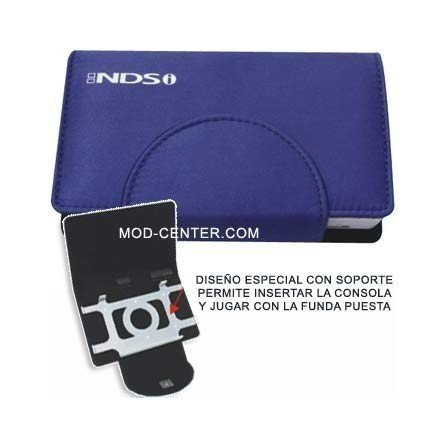 Funda Compact Pocket + Stand DSi ( Azul Marino )