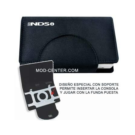 Funda Compact Pocket + Stand DSi ( Negro )