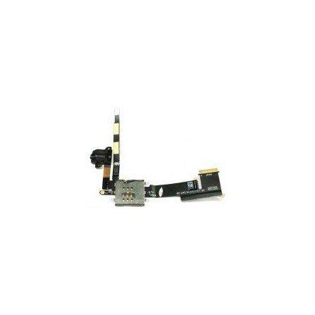 Cable Flex lector SIM + Conector Auricular iPad 2 3G