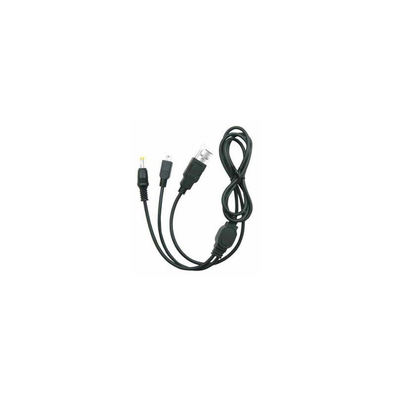 Cable USB Datos y Cargador 2en1 PSP
