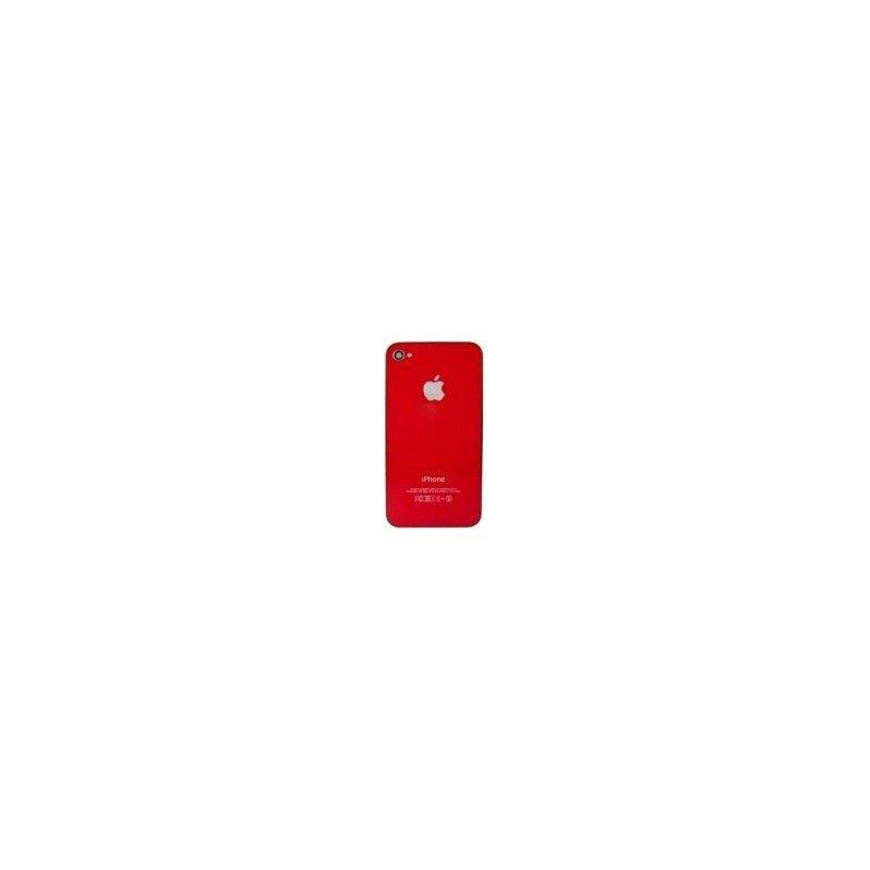 Tapa trasera bateria iPhone 4G  (Roja)