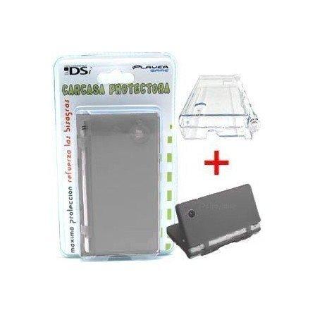 Carcasa protectora + Funda de silicona DSi  2 en 1 ( Negro )