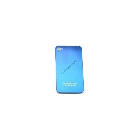 Tapa trasera bateria iPhone 4G (Azul metalizado)