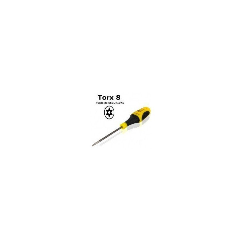 Destornillador TORX T8 P. SEGURIDAD ( Profesional )