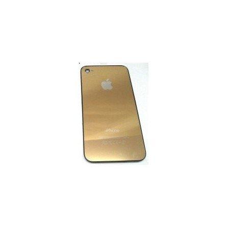 Tapa trasera bateria iPhone 4G (Dorada)