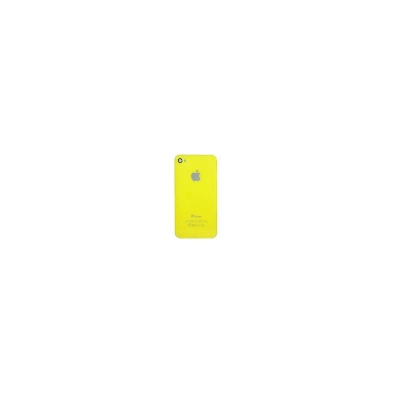 Tapa trasera bateria iPhone 4S  (Amarilla)Tapa trasera bateria iPhone 4S  (Amarilla)