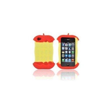 Funda silicona iPhone 4G / 4s ( Manzana Mordida )Funda silicona iPhone 4G / 4s ( Manzana Mordida )