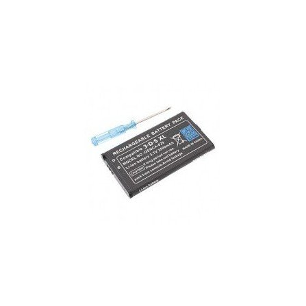 Bateria recargable 2000mha + destornillador 3DS XL