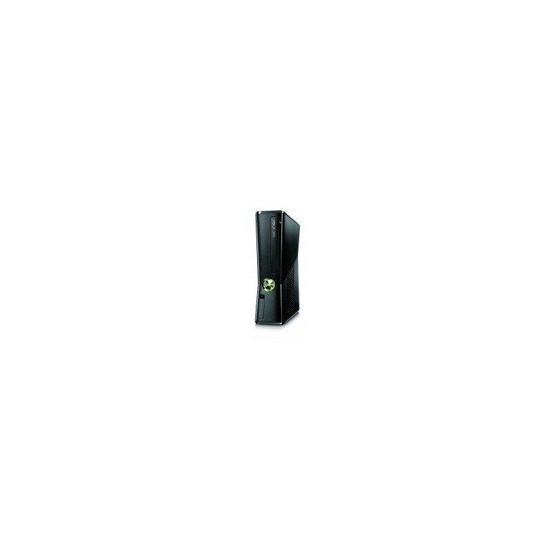 Carcasa Original Seminueva XBOX360 SLIM ( NEGRA )